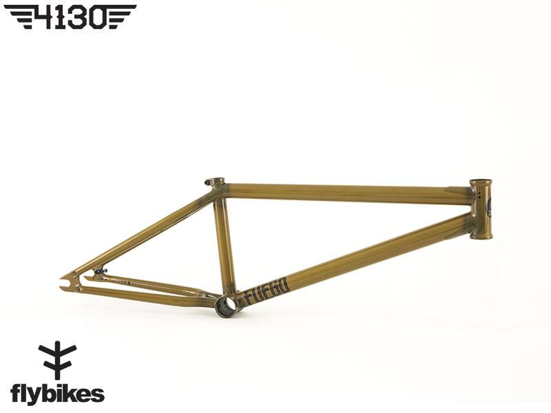 "FLY FUEGO3 BMX Frame 20.5""TT -Gloss Semi Trans Brown- [재입고]"
