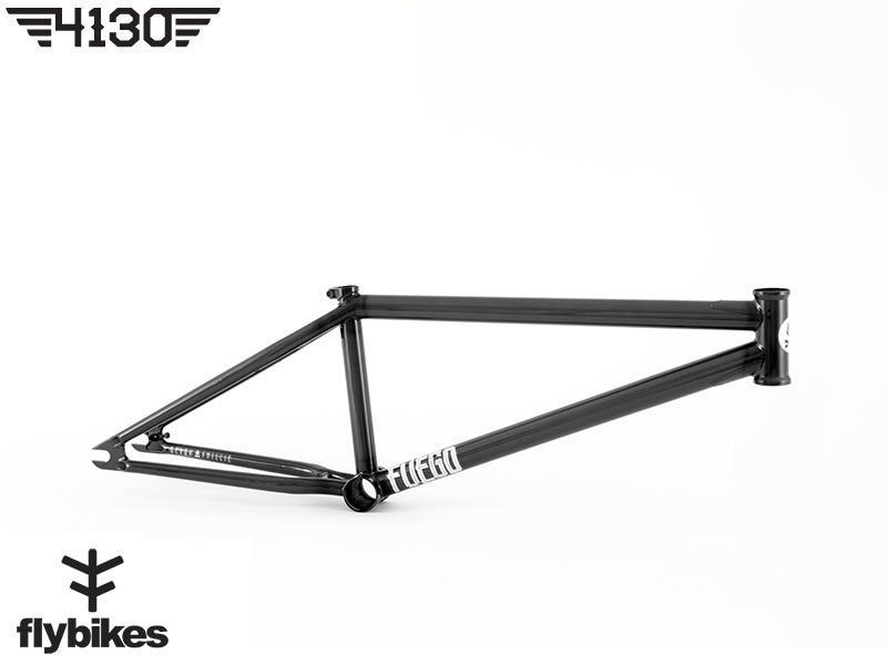 "FLY FUEGO3 BMX Frame 20.5""TT -Gloss Trans Black- [재입고]"